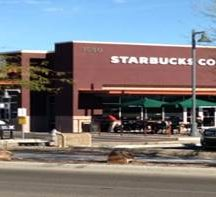 Retail West starbucks