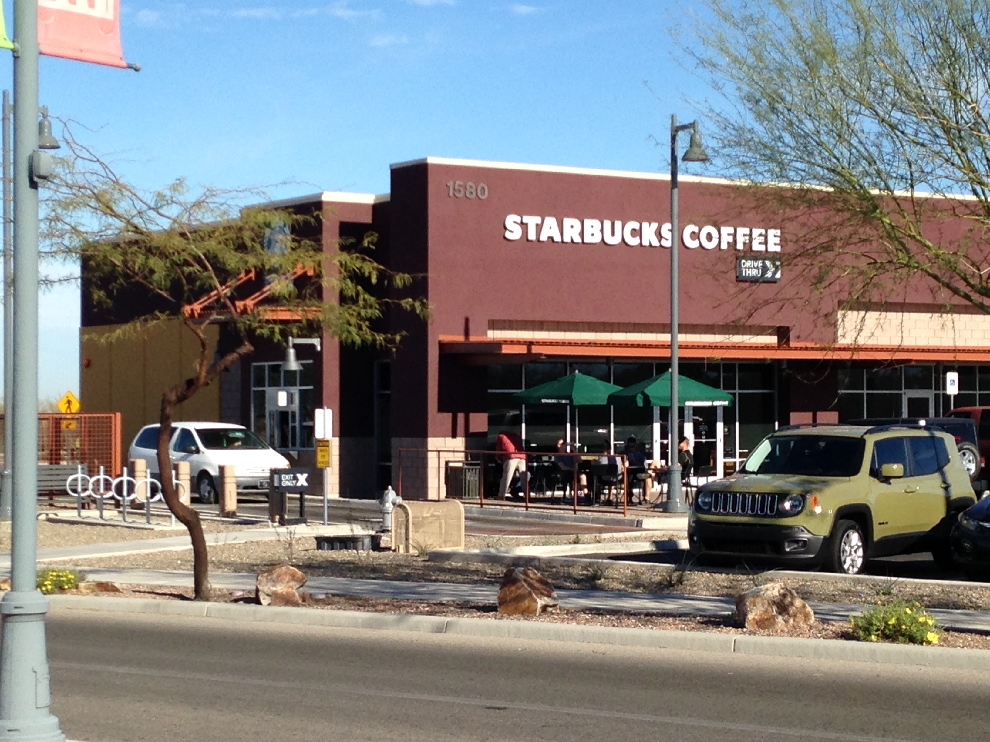 Starbucks At Tucson Marketplace Tucson Az